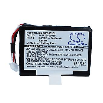 Barcode Scanner Battery for Getac 441816800010 PS535E PS535 PS535F 3.7V 2400mAh