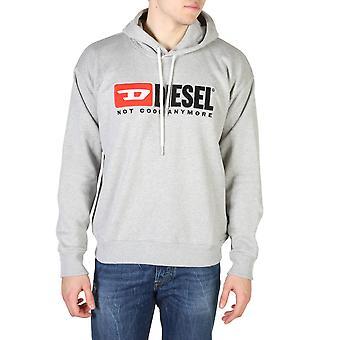 Diesel Original Men All Year Sweatshirt - Grey Color 55080