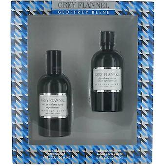 Geoffrey Beene Grey Flannel Eau de Toilette Spray 120ml Gift Set