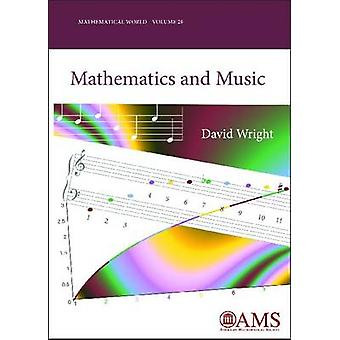 Matemática e música por David Wright - livro 9780821848739