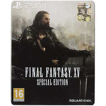 Final Fantasy XV Special Steelbook Edition PS4 Game