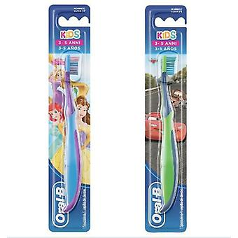 Oral B Brush Kids Teeth Manual With Princesses Or Characters From Cars 3-5 Years Soft