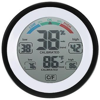 مقياس الحرارة الرقمي متعدد الوظائف مقياس الرطوبة في درجة الحرارة