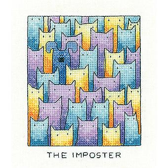Heritage Crafts Simply Heritage Cross Stitch Kit - O Impostor