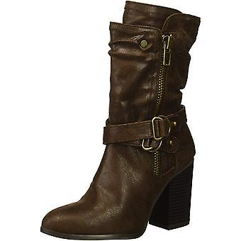 Carlos by Carlos Santana Womens Paisley Almond Toe Mid-Calf Chelsea Boots