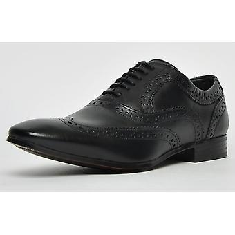 Ikon Classic Anderson Leather Brogue Black