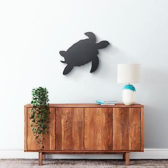 Metallwandkunst - Sea Turtle