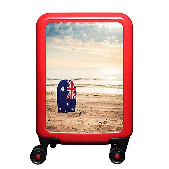 myTrolley Australian Beach S, 4 rolls, 55 cm, 32 L, red