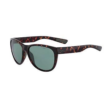Nike Compel EV0883 Men's Sunglasses with Tortoise Frames and Green Lens