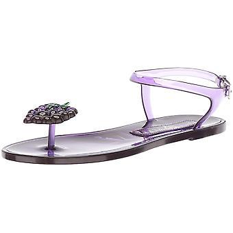 Katy Perry Frauen's Schuhe die GELI PVC Split Toe Casual Knöchel Riemen Sandalen