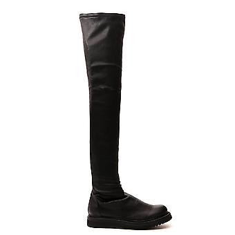 Rick Owens Rp20f2854lns09 Women's Black Leather Boots