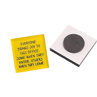 You Bring Joy When You Leave - Office Magnet - Cracker Filler Gift