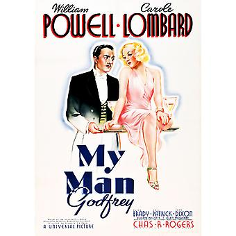 Min Man Godfrey [DVD] USA import
