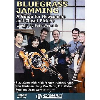 Bluegrass Jamming [DVD] USA import