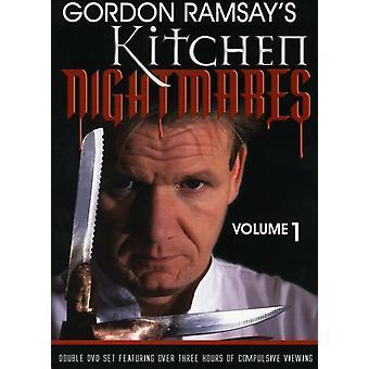 Vol. 1-Gordon Ramsay-Kitchen Nightmares [DVD] USA import