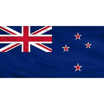 New Zealand Flag 3ft x 5ft Polyester Fabric Rugby Sport Country