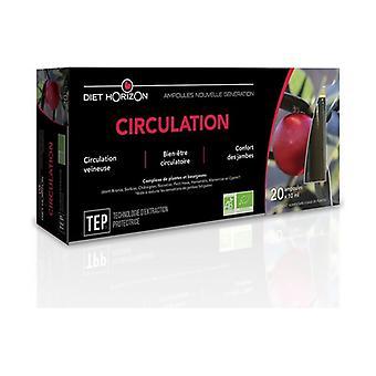Organic circulation 20 ampoules