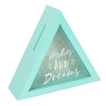 Bohemian Babe Wishes And Dreams Triangle Money Box