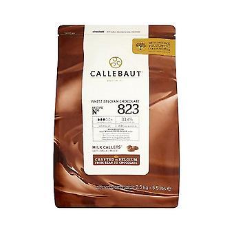 Croustilles au chocolat au lait belge Callebaut 2,5 kg