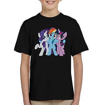 My Little Pony Team Hug Kid's T-Shirt