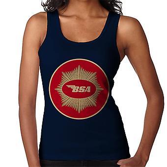 BSA Motorcycle Red Logo Women's Vest