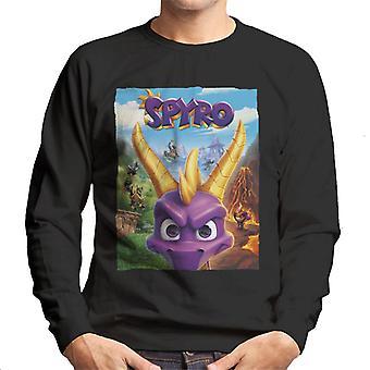 Spyro Reignited Trilogy Cover Men's Sweatshirt
