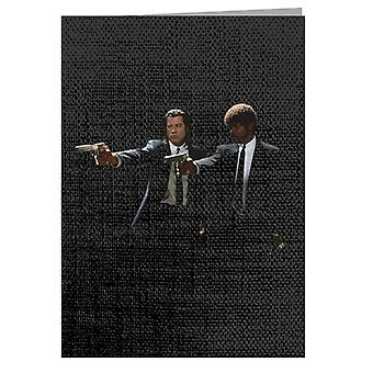 Vincent Vega And Jules Winnfield Pulp Fiction Greeting Card