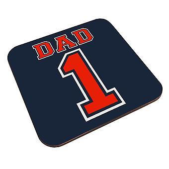 Number 1 Dad Coaster