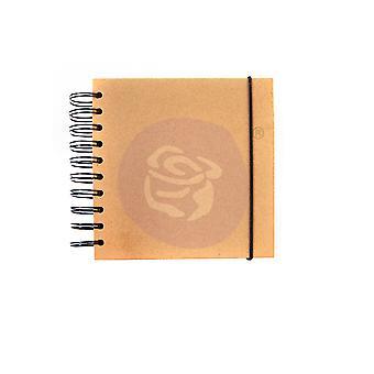 Finnabair Art Daily Square Chipboard Journal