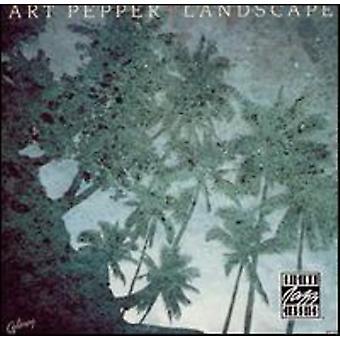 Art Pepper - landskap [CD] USA import