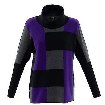 MARBLE Marble Purple Sweater 5872