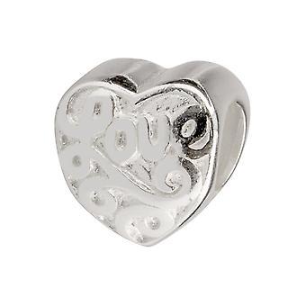 Sterling Silver Valentine & apos; s eller Anniversary Charm Pärlor