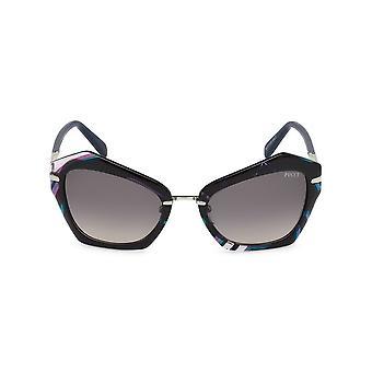 Emilio Pucci - Accessoires - Zonnebrillen - EP0072_92B - Dames - zwart, donkerblauw