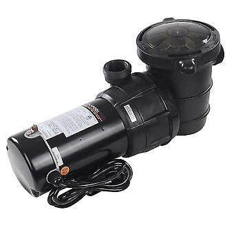 Yescom 1.5 HP Above Ground Swimming Pool Spa Water Pump Outdoor Strainer Max. Flow 4980GPH Motor w/ ETL CSA Certificate
