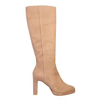 Stuart Weitzman Aleinasuecam Women's Beige Suede Boots
