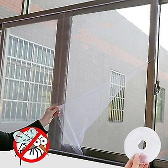 Indoor Insect, Fly, Mosquito Window Screen, Easy To Fit With Tape