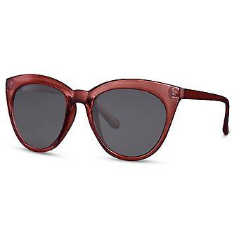النظارات الشمسية النساء فراشة كات. 3 الصدأ والبني / الأسود