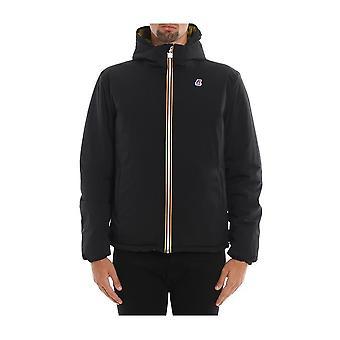 K-Way - Clothing - Jackets - K00A4K0_919 - Men - black,goldenrod - L