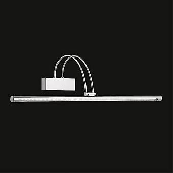 Ideale Lux Bow - LED Large Picture Wall Light Nickel