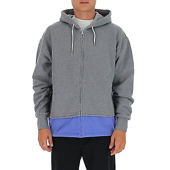 Marni Fumu0047qss2354300n41 Men's Grey Cotton Sweatshirt