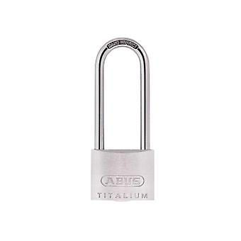 ABUS 64TI/40mm TITALIUM Luclock 63mm Long Shackle Carded ABU64TI4063C