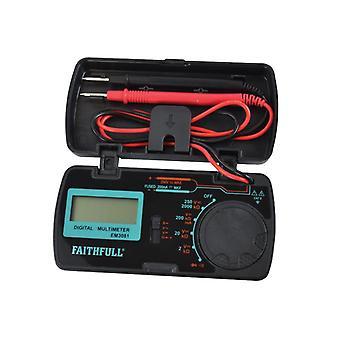 Faithfull Pocket Portable Multimeter EM3081