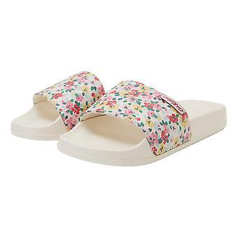 Slydes Cath Kidston Jane Flip Flops - Ditzy Floral Cream