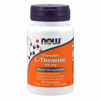 Jetzt Lebensmittel L-Theanin, 100 mg, 90 Veg Caps