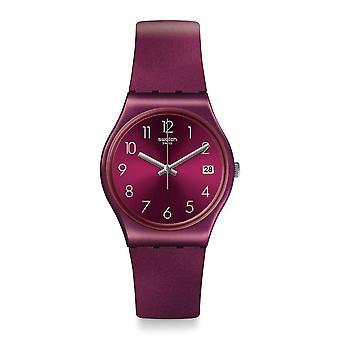 Swatch Gr405 Redbaya Silikon Uhren