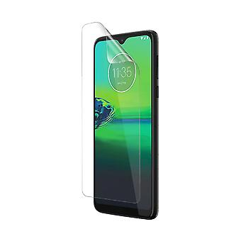 Celicious Vivid Plus Mild Anti-Glare Screen Protector Film Compatible with Motorola Moto G8 Play [Pack of 2]