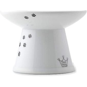 NECOICHI Extra Wide Cat Food Bowl