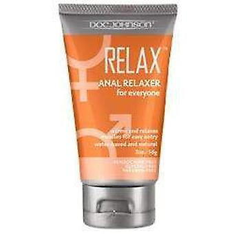 Doc johnson anal relaxer for everyone waterbased lubricant 60 ml / 2.03 fl oz tcp44104