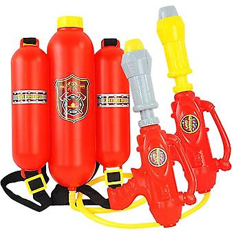 Backpack Fireman Hydrant Water Gun Toy, Sprayer Summer Toy