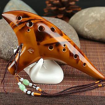 Keraaminen Ocarina Alto - C-sävy klassinen huilu